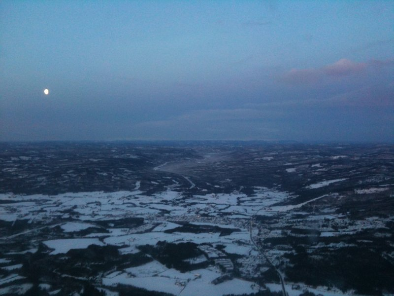03 - Flying over Oslo area