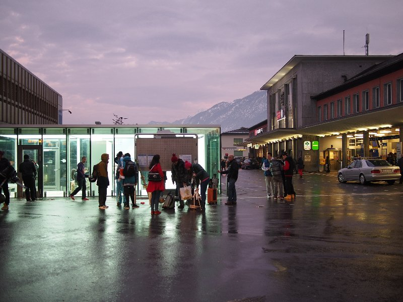 Sion\'s train & bus station